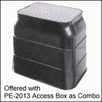 "Access Box sold with 6"" ABS Backwater Valve"