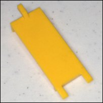 FIO backwater valve retainer tabs for gate hinge