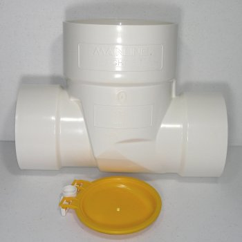 Mainline ML-SF668 PVC Straight Fit Backwater Valve